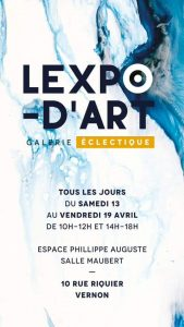 Expositions - Chantal Lallemand peintre - Expo d'Art Vernon Eure