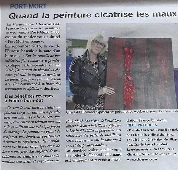 Exposition Port Mort 27940 Peinture